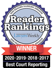 MLW Reader Rankings 2020 Best Court Reporting
